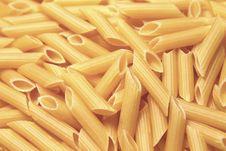 Tube Pasta Stock Images