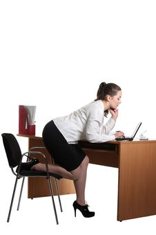 Free Businesswoman In The Office Royalty Free Stock Image - 18355536