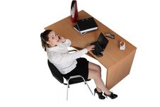 Free Businesswoman In The Office Royalty Free Stock Photography - 18355537