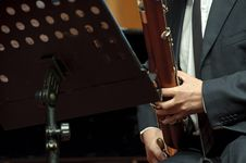 Free Bassoonist On Concert Stock Images - 18355804