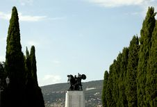 Free War Memorial In St. Giusto Hill, Trieste Stock Images - 18357734