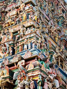 Free Hindu Architecture Stock Images - 18358334