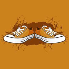 Free Men Shoes Royalty Free Stock Image - 18358556