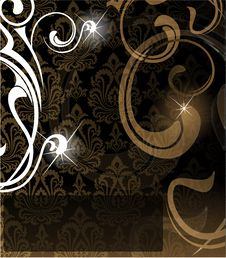 Free The  Brown Abstract Background Stock Image - 18358911