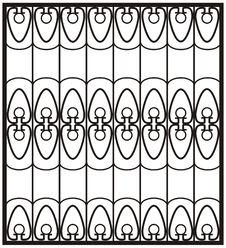 Free The Metal Window Lattice Stock Images - 18358984