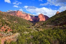 Free Kolob Canyons Landscape Stock Photos - 18359783