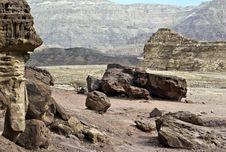 Free Gelogical Formations, Timna Park, Israel Stock Photos - 18359923