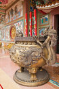 Free Chinese Dragon Incense Burner Royalty Free Stock Photo - 18361805