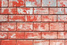 Free Red Old Wall Stock Photo - 18360120
