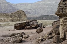 Free Stones Of Timna Park, Israel Royalty Free Stock Images - 18360139