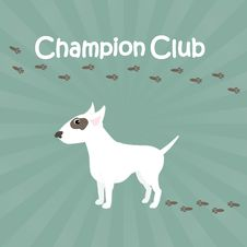 Free Champion Club Sign Royalty Free Stock Photos - 18360448