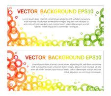 Free Set Of Banners Royalty Free Stock Images - 18360509