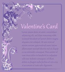 Free Valentine S Card Royalty Free Stock Photo - 18360655