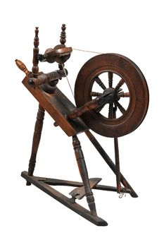 Free Antique Spinning Wheel Stock Photo - 18361400