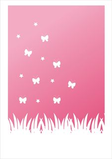 Free Pink Nature Background Royalty Free Stock Photography - 18361967