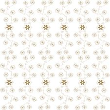 Free Floral Pattern Royalty Free Stock Photography - 18362107