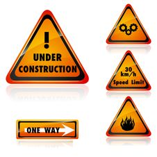 Free Under Construction Royalty Free Stock Photography - 18362637