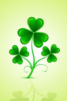 Free Clover Leaf Royalty Free Stock Image - 18362896