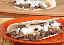 Free Beef Pita Stock Photo - 18363340