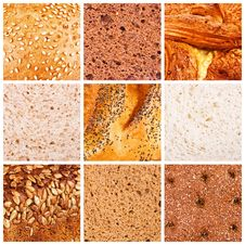 Free Different Kinds Of Bread Royalty Free Stock Photography - 18363377