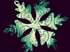 Free Snowflake Ornament 1 Stock Images - 18366344