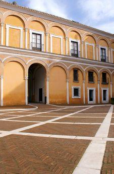 Free Real Alcazar Moorish Palace In Seville Royalty Free Stock Photo - 18366715