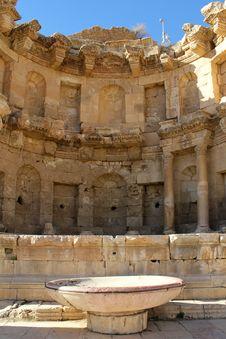 Free Ruins Of Greco-Roman City Of Gerasa Royalty Free Stock Photo - 18366795