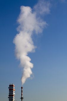 Free Fume Chimney Stock Image - 18367441