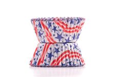 Patriotic Cup Cake Holders Royalty Free Stock Image