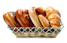 Free Bread In The Basket Royalty Free Stock Images - 18368719