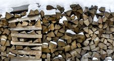 Free Firewood Royalty Free Stock Photography - 18369337