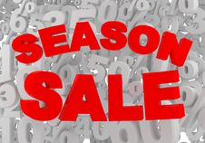 Free Season Sale Stock Image - 18369561