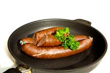 Free Sausages Handmade By The Butcher Royalty Free Stock Image - 18369846