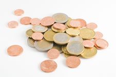 Free Euro Coins Heap Stock Photo - 18369880