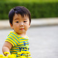 Free A Cute Baby Is Playing Stock Image - 18371571