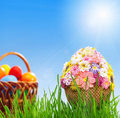 Free Egg With Beads Stock Photography - 18374482