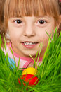 Free Easter Eggs Hunt Royalty Free Stock Photos - 18374508