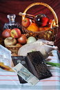 Free Ten Roubles And The Bought Products. Stock Images - 18375124