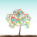 Free Abstract Tree Royalty Free Stock Image - 18375586