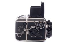 Free Vintage Medium Format Camera Stock Photography - 18370602