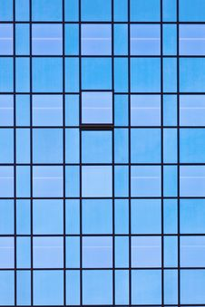 Free Windows Of Office Buildings Stock Image - 18370701