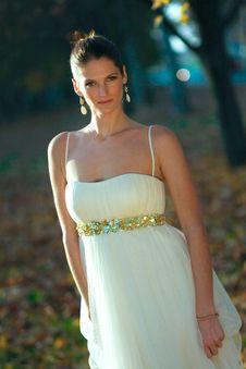 Free Beautiful Young Bride Stock Photos - 18370883