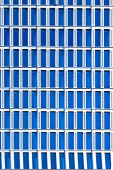 Windows Of Office Buildings Stock Photo