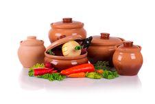 Ceramic Ware. Royalty Free Stock Photos