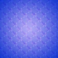 Free Blue Seamless Floral Wallpaper Stock Image - 18373201