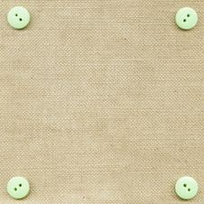 Free Buttons On Fabric Royalty Free Stock Photo - 18373555