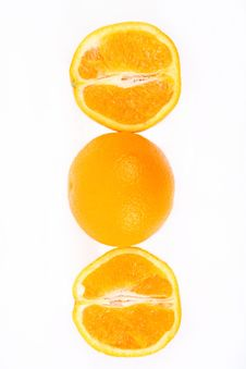 Free Half An Orange Stock Photo - 18373620