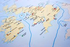 Free United Kingdom Map Royalty Free Stock Image - 18373706