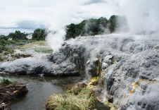Free Geysers And Sulphur Formations Stock Photo - 18373810
