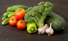 Free Fresh Vegetables Royalty Free Stock Photography - 18373847